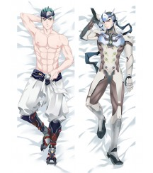 Overwatch OW Genji Anime Dakimakura Pillow Cover