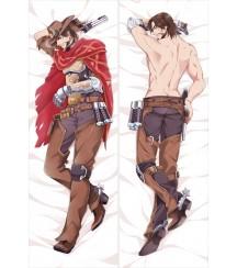 Overwatch - McCree Anime Dakimakura Pillow Cover