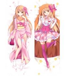 Himouto! Umaru-chan Umaru Doma Anime Dakimakura Pillow Cover
