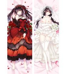 Date A Live Kurumi Tokisaki Anime Dakimakura Pillow Cover