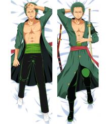 Hot Anime One Piece Roronoa Zoro Anime Dakimakura Pillow Cover