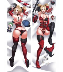 Suicide Squad Harley Anime Dakimakura Pillow Cover