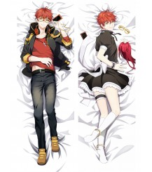Mystic Messenger Saeyoung Choi Luciel Choi 707 Anime Dakimakura Pillow Cover