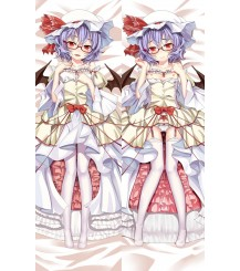 Touhou Project Remilia Scarlet Anime Dakimakura Pillow Cover