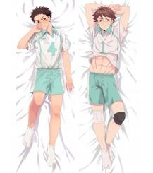 Haikyu!!Aoba Johsai High School Tōru Hajime Lwaizumi Oikawa Anime Dakimakura Pillow Cover