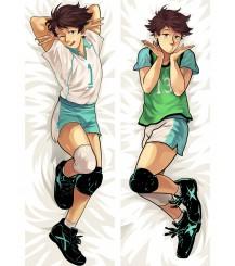 Haikyu!!Aoba Johsai High School Lwaizumi Oikawa Anime Dakimakura Pillow Cover