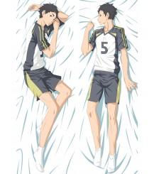2017 New Anime Haikyuu!! Akaashi Keiji Dakimakura Hugging Body Pillow Case Cover