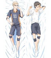 2017 New Anime Haikyuu!! Tsukishima Kei Dakimakura Hugging Body Pillow Case Cover