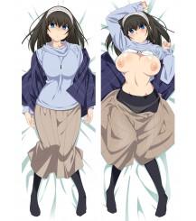 Idolmaster Fumi Sagisawa Anime Dakimakura Pillow Case