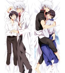 2017 New Anime Dakimakura GINTAMA Sakata Gintoki Hugging Body Pillow Case Cushion Cover