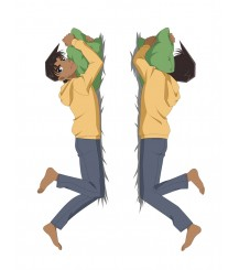 Detective Conan Hattori Heiji Anime Dakimakura Pillow Cover