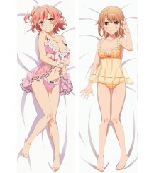 My Youth Romantic Comedy Is Wrong, As I Expected Yui Yuigahama Anime Dakimakura Pillow Cover