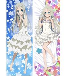 2017 New Anohana, The Flower We Saw That Day - Meiko Honma Anime Dakimakura Pillow Cover