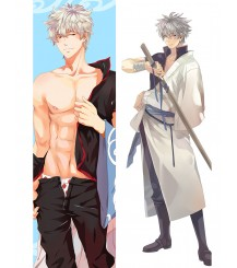 2017 New Anime GINTAMA Sakata Gintoki BL Male Dakimakura Hug Body Pillow Case Cover