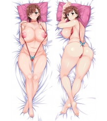 2017 Newly A Certain Magical Index Mikoto Misaka Anime Dakimakura Pillow Cover