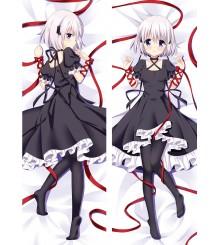 Anime Rewrite Dakimakura Hugging Body Kagari Pillow Case cover