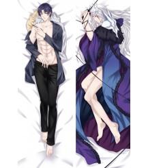 Anime Dakimakura Quan Zhi Gao Shou The King's Avatar Ye Xiu Hug Body Pillow Case