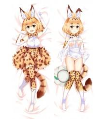 NEW Kemono Friends Rekita Fox Anime Pillow Case Japan otaku Hugging Body Dakimakura r18