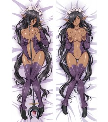 Black Beast Olga discordia Anime Dakimakura Pillow Case