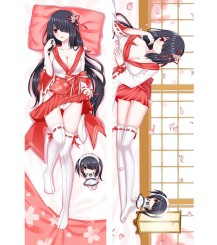 Date A Live Tokisaki Kurumi Anime Dakimakura Pillow Case