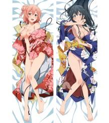 My youth romantic comedy is wrong as I expected. Yukino Yukinoshita Yui Yuigahama Anime Dakimakura Pillow Case