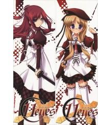 11EYES - Misuzu Kusakabe + Yukiko Hirohara Pillow Cover