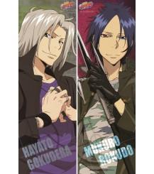 Reborn! - Mukuro Rokudo + Hayato Gokudera Pillow Cover