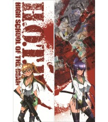 Highschool of the Dead - Alice Maresato Anime Dakimakura Pillow Cover
