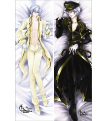07-GHOST - Ayanami Anime Dakimakura Pillow Cover