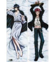 K Return of Kings - Mikoto Suoh + Reishi Munakata Anime Dakimakura Pillow Cover