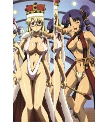 Freezing - Satellizer el Bridget + Rana Linchen Anime Dakimakura Pillow Cover