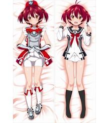 Vividred Operation -Akane Isshiki Anime Dakimakura Japanese Pillow Cover