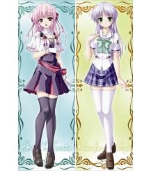 Brighter Than Dawning Blue - Estel Freesia Anime Dakimakura Pillow Cover