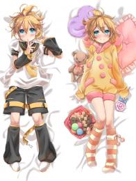 Hot Anime Game Vocaloid Kagamine Rin Anime Dakimakura Pillow Cover