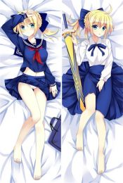 Hot Anime Game Fate/stay night  fate saber Anime Dakimakura Pillow Cover