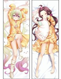 Hot Anime Magical Girl Raising Project Nemurin&tama Anime Dakimakura Pillow Cover