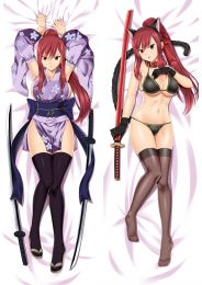 Fairy tail Erza Scarlet Anime Dakimakura Pillow Cover Mgf-18124-1