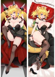 Super Mario Bowsette Koopa-hime Anime Dakimakura Pillow Cover Mgf-18130-1