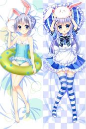 Hot Anime Is the Order a Rabbit? Kafū Chino&Hoto Cocoa Anime Dakimakura Pillow Cover
