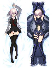 Hot Anime Fate Grand Order/FGO Mashu Kyrielight Matthew Kyrielite Anime Dakimakura Pillow Cover