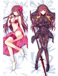Hot Anime Fate Grand Order/FGO Scathach Anime Dakimakura Pillow Cover