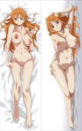 R18 ONE PIECE Nami Anime Dakimakura body pillow case