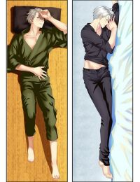 Hot Anime Yuri on Ice Viktor Nikiforov Anime Dakimakura Pillow Cover