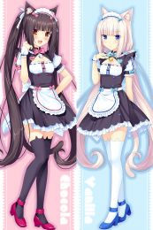 Nekopara Chocola Vanilla Anime Dakimakura Pillow Case