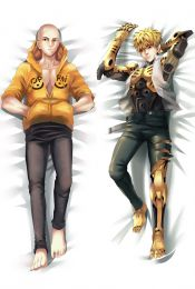 One Punch Man Saitama Genos Anime Dakimakura Pillow Case