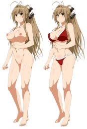 Amagi Brilliant Park Isuzu Sento Anime Dakimakura Pillow Case