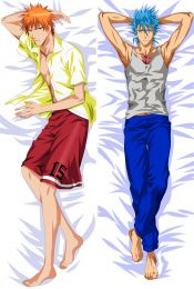 Bleach Ichigo Kurosaki Grimmjaw Jaegerjaquez Anime Dakimakura Pillow Case