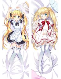 Anime Otaku Dakimakura Rewrite Nakatsu Shizuru Hugging Body Pillow Case