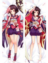 Onmyouji Kagura Anime Dakimakura Pillow Case