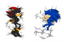 Hot Anime Sonic the Hedgehog.Shadow the Hedgehog  Anime Dakimakura Pillow Cover